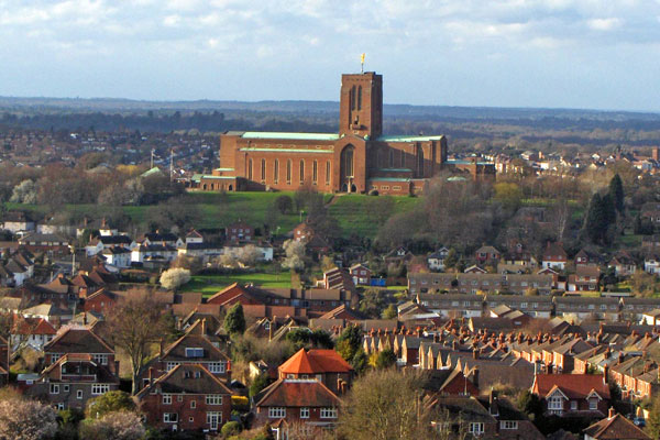 Guildford Cathedral Abseil 2018